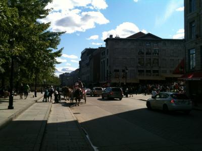 La rue de la commune une rue dans la ville de montr al for Piscine 50m montreal